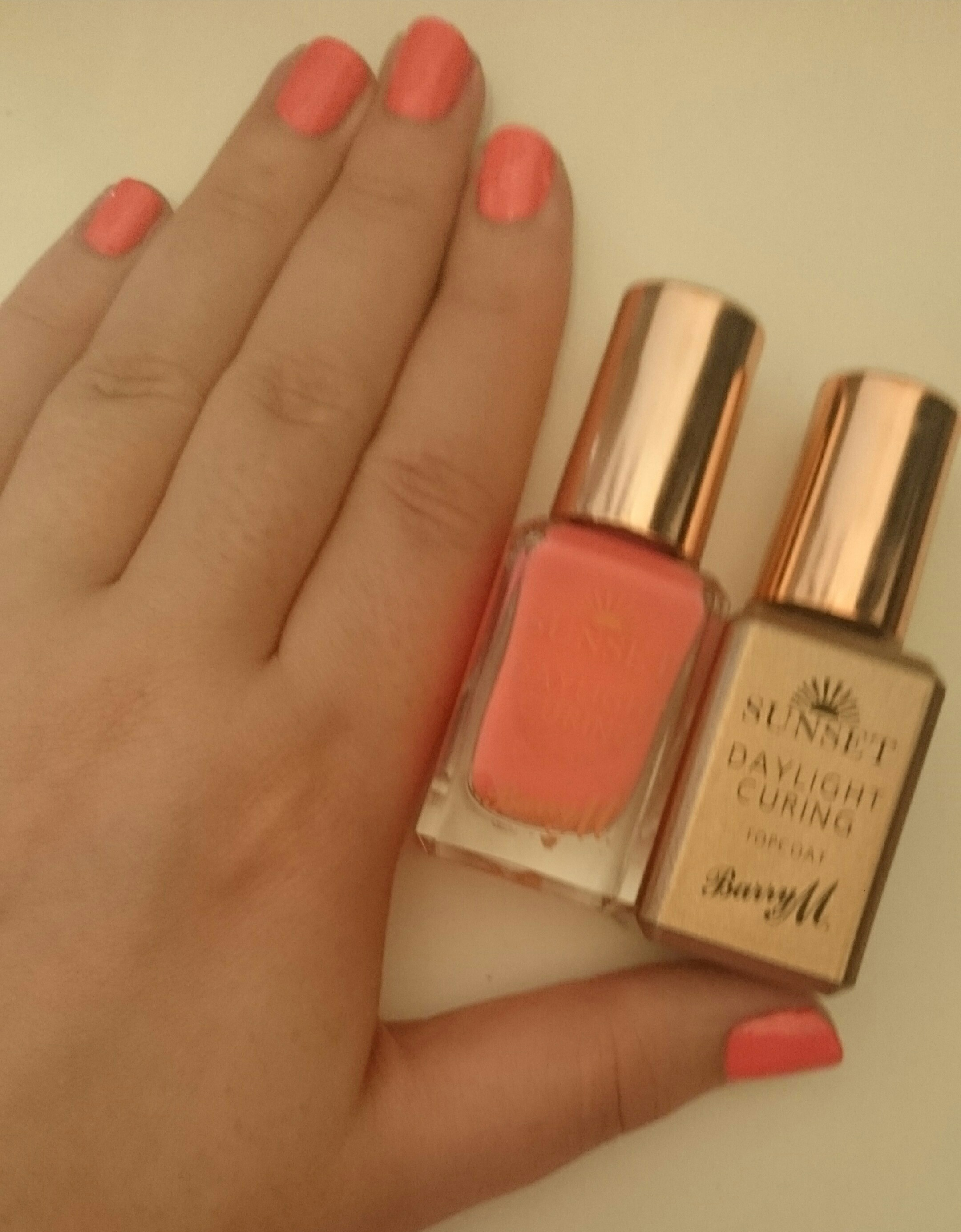 New Barry M Sunset Nails Review Gel Like Nails At Home