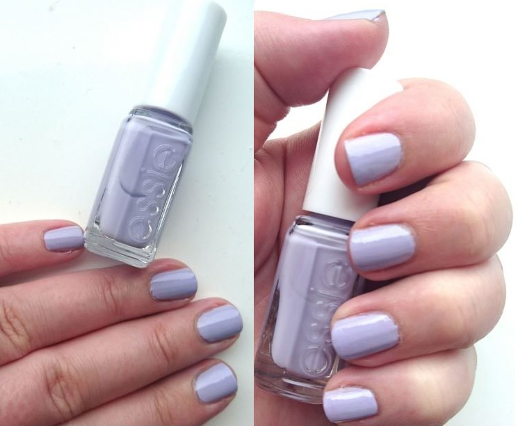 Nails of the Day // Essie - Virgin Snow // Pale Pastel Lilac! | Katie Cupcake - Life With ME